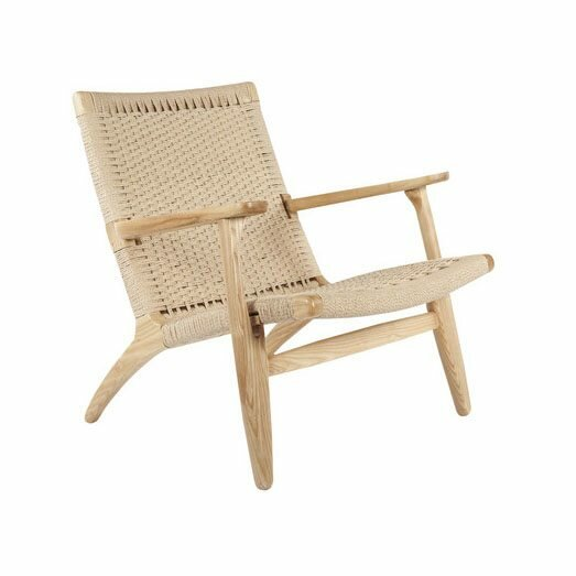 Shaker Modern Solid Wood Armchair by Langley Street