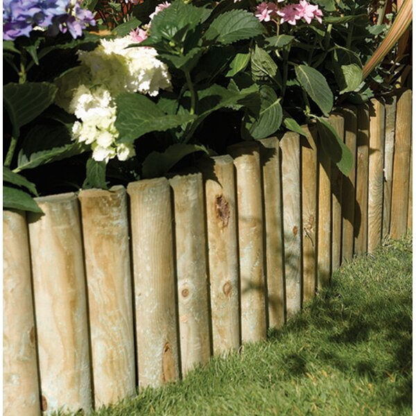 6 in. H x 72 in. W Easy Fix Border Edging (Set of 2) by Rowlinson