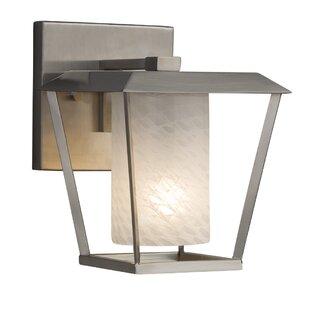 Price comparison Luzerne 1-Light Outdoor Sconce By Brayden Studio