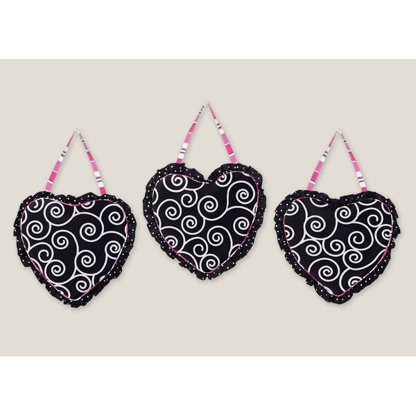 3 Piece Madison Wall Hanging Set by Sweet Jojo Designs