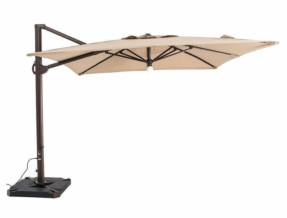 Red Barrel Studio Peregrine Patio Offset Hanging 10 Cantilever Umbrella Wayfair