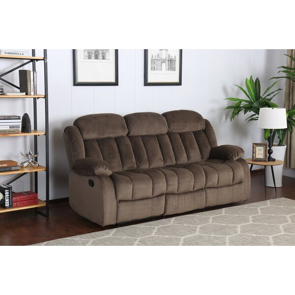 Cheap Teddy Bear Reclining Sofa by Sunset Trading by Sunset Trading