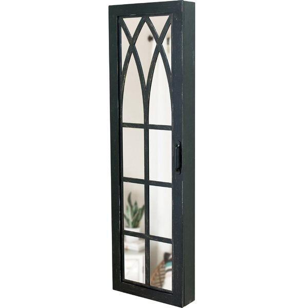 Pandora Arch Over The Door Jewelry Armoire with Mirror by Gracie Oaks