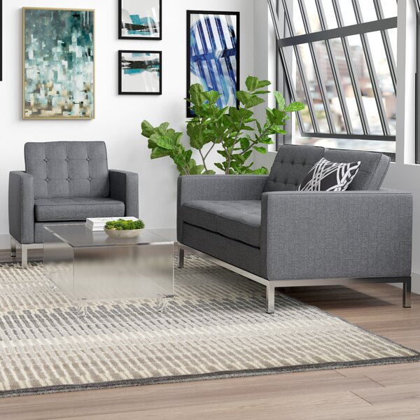 Gayatri 2 Piece Living Room Set by Orren Ellis Orren Ellis