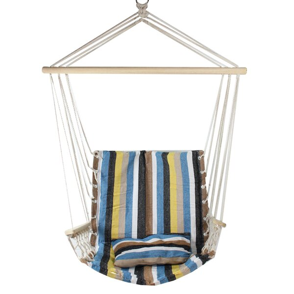 Osiris Striped Chair Hammock by Highland Dunes