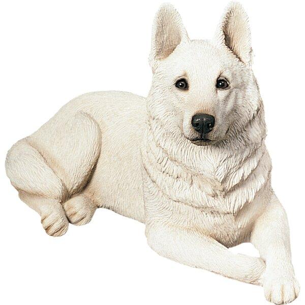 Original Size German Shepherd Figurine by Sandicast