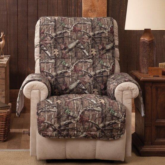 Breakup Infinity Box Cushion Recliner Slipcover by Mossy Oak