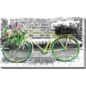 'Vintage Bike' Graphic Art on Wrapped Canvas by Picture Perfect International