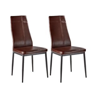 Cerise Modern Upholstered Dining Chair Set Of 4
