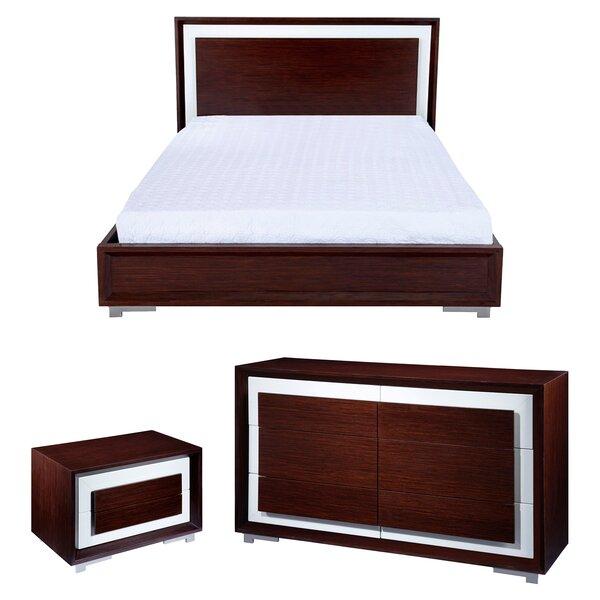 CJ Queen Platform Configurable Bedroom Set by Allan Copley Designs