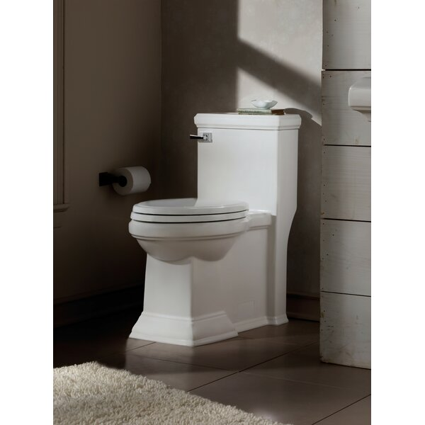Town Square Flowise RH 1.28 GPF Elongated One-Piece Toilet by American Standard