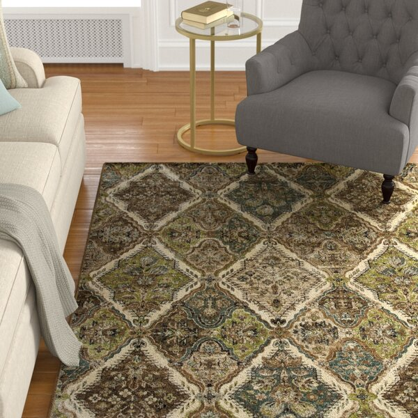 Newfoundland Green Area Rug by Astoria Grand