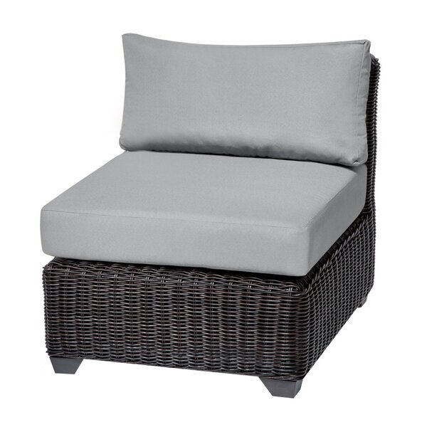 Eldredge Patio Chair with Cushions by Rosecliff Heights