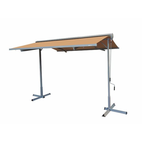 FS Series 11 ft. W x 10 ft. D Retractable Patio Awning by Advaning