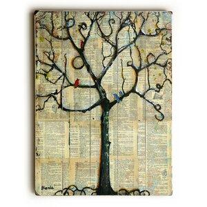 Winterlight Tree Graphic Art by Red Barrel Studio