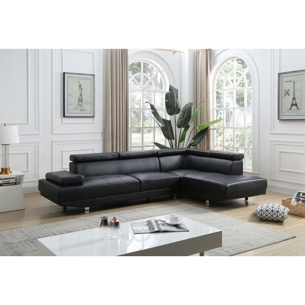 Ahoskie Right Hand Facing Modular Sectional By Orren Ellis