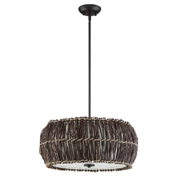 Lemington 4-Light Drum Chandelier by Bay Isle Home