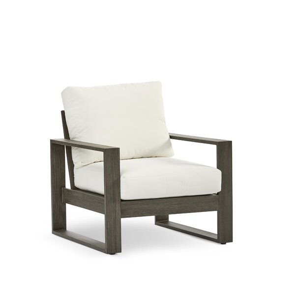 Parks Sheppard Patio Chair with Cushion by Modern Rustic Interiors