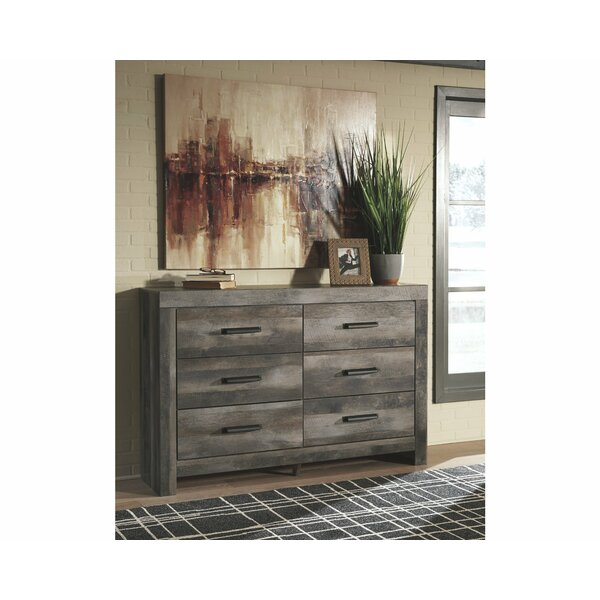 Theiss 6 Drawer Double Dresser by Gracie Oaks