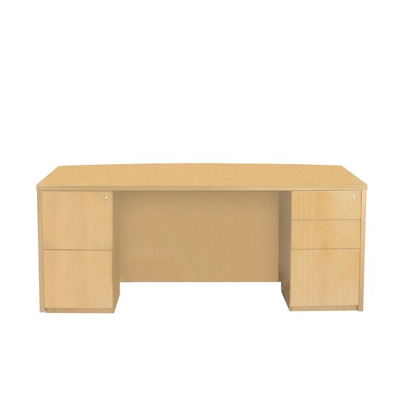 Luminary Series Executive Desk by Mayline Group