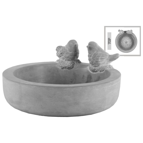 Aquinnah Bowl with Bird Figurine by Charlton Home