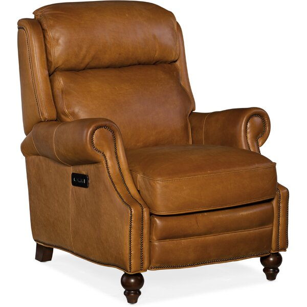 Fifer Leather Power Recliner by Hooker Furniture