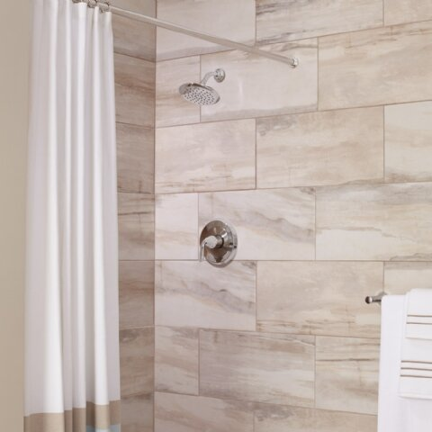 Fluent Pressure Balance Bath/Shower Trim by American Standard