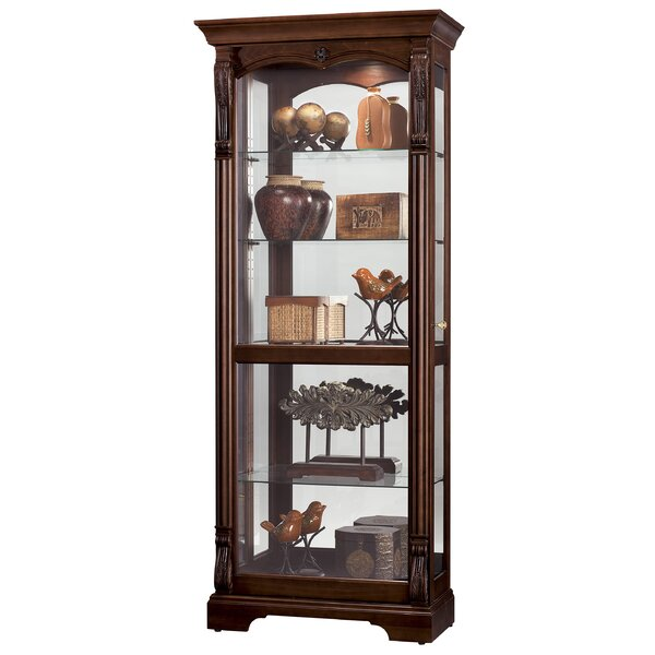 Brim Curio Cabinet by Darby Home Co