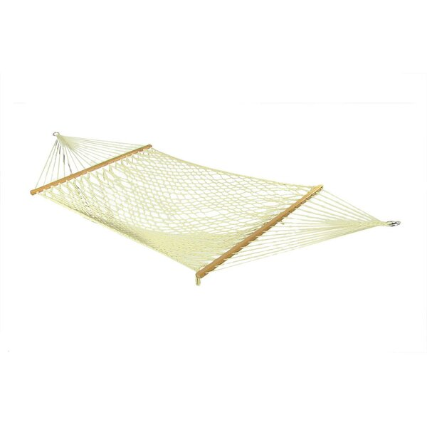 Caulder Cotton Rope Hammock with Stand by Longshore Tides