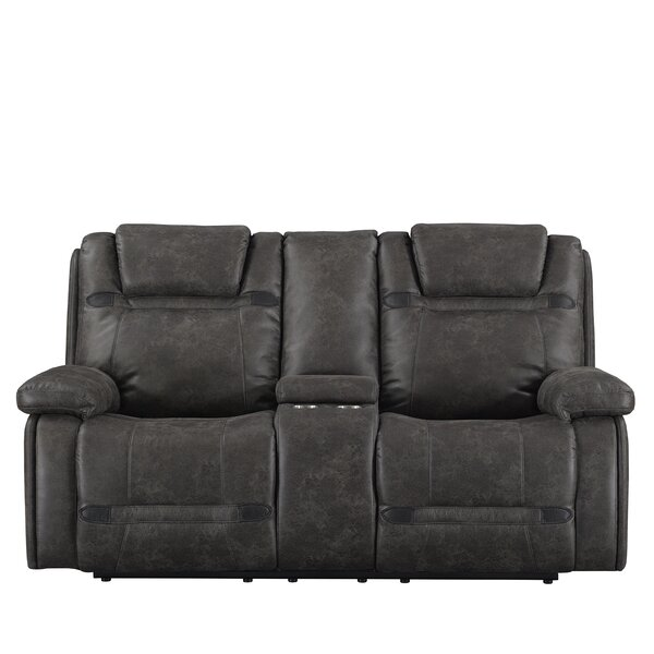 Slayden Reclining Loveseat by Winston Porter