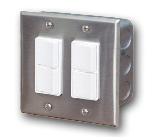 In-Wall Double Duplex Switch By Infratech