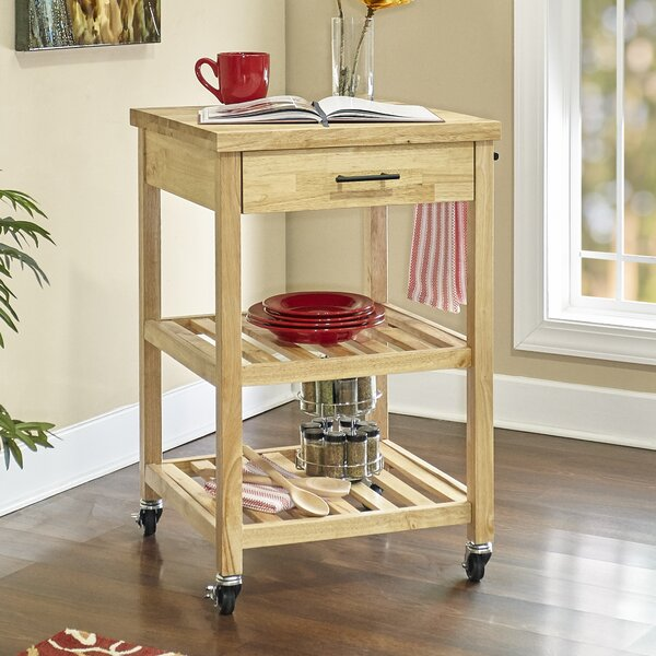 Woods Kitchen Cart by Millwood Pines