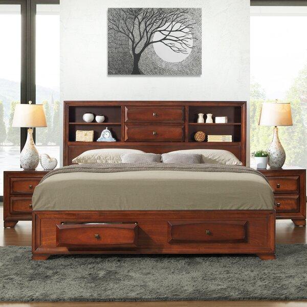 Beagan King Platform Solid Wood 4 Piece Bedroom Set by Winston Porter