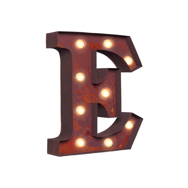 Letter LED Marquee Sign by 17 Stories