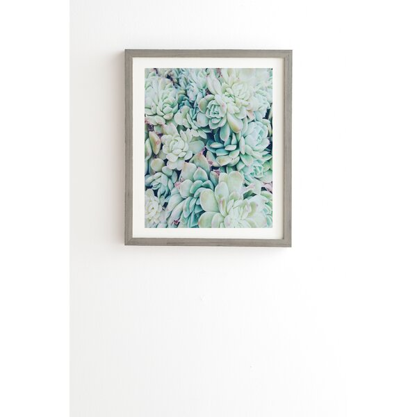 My Desert Blue Framed Photographic Print by East Urban Home