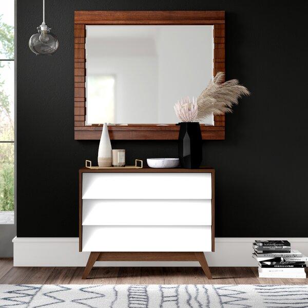 Ellenberger 3 Drawer Dresser by Mercury Row