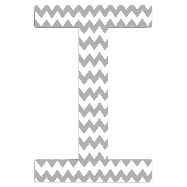 Chevron Initial Wall Décor by Stupell Industries