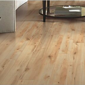 Hanbridge 5.25 x 47.25 x 11.93mm Maple Laminate Flooring in Honey by Mohawk Flooring