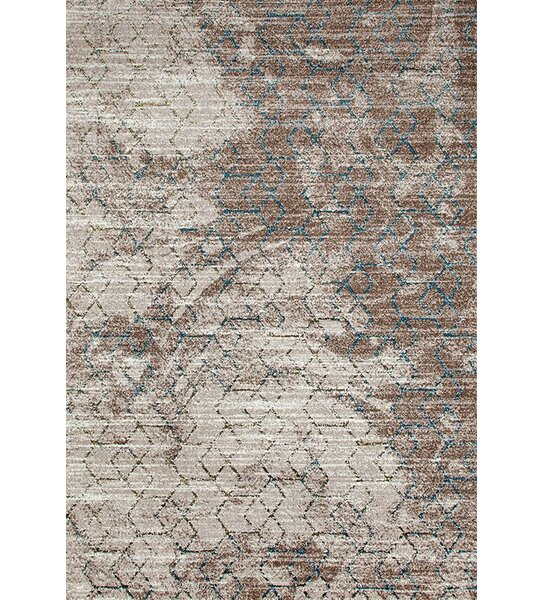 Lissette Beige/Gold Indoor/Outdoor Area Rug by Williston Forge