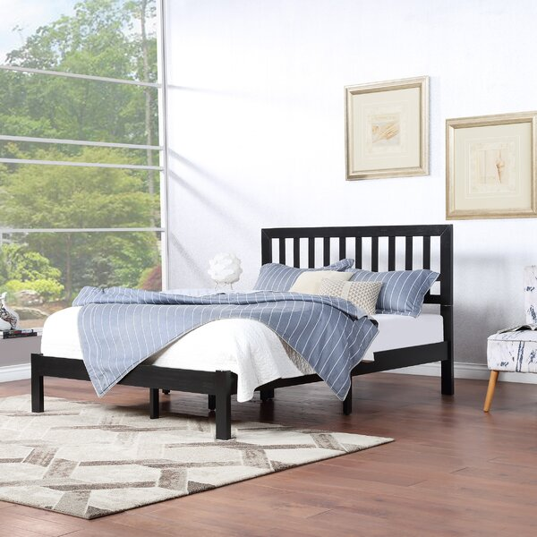 Stella Queen Platform Bed by Canora Grey