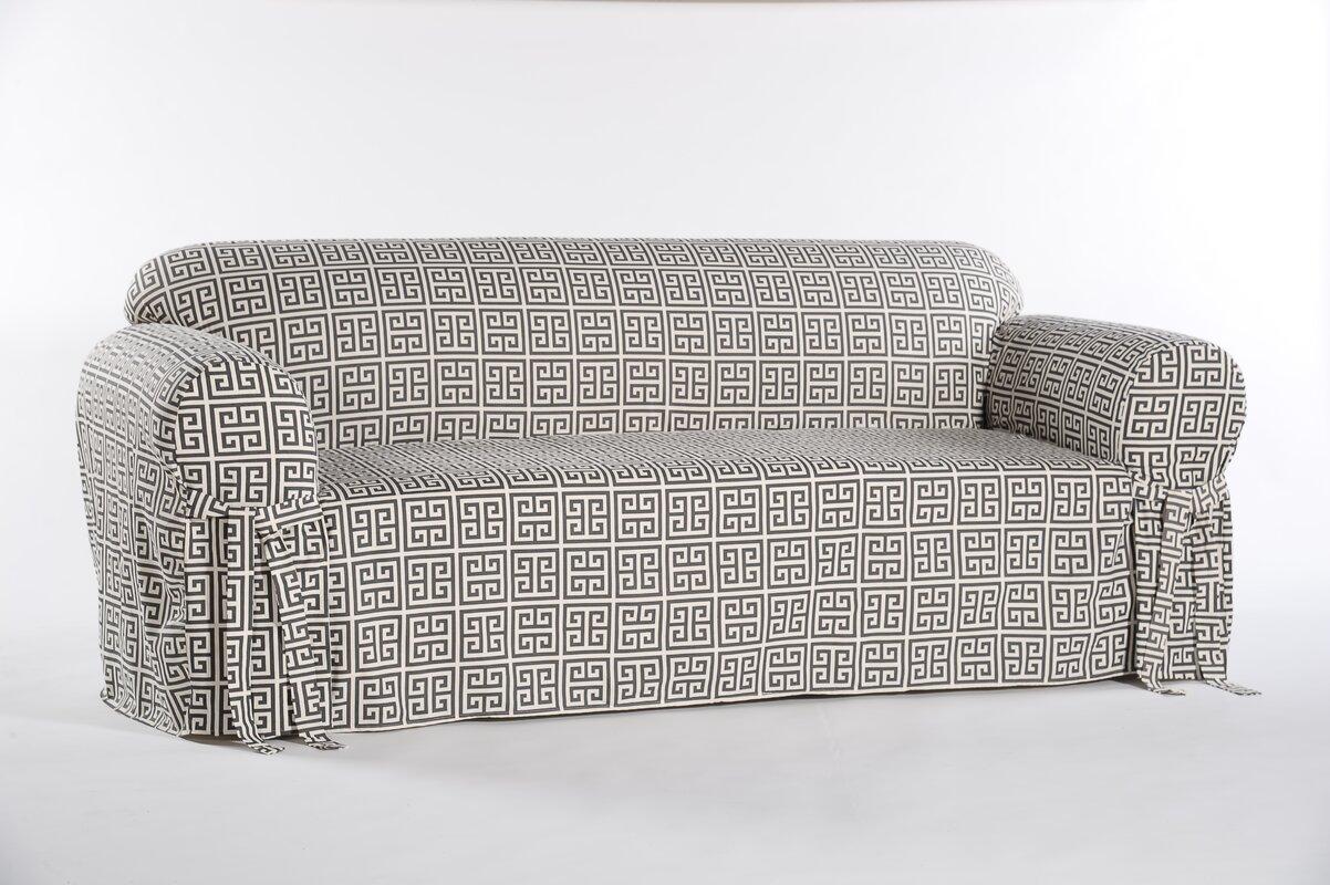 Classic Slipcovers Box Cushion Sofa Slipcover Amp Reviews