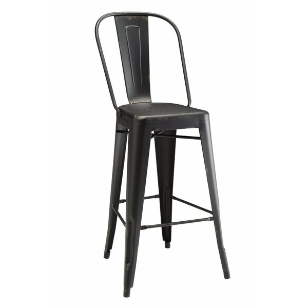 Endo 30 Bar Stool (Set of 2) by 17 Stories
