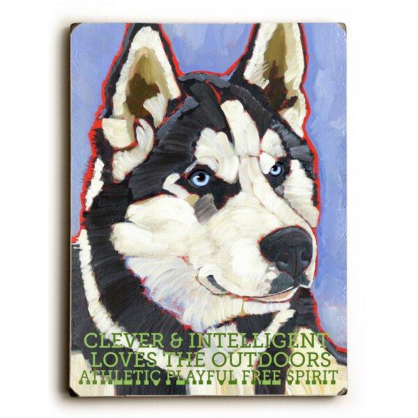 Siberian Huskie Vintage Advertisement by Artehouse LLC