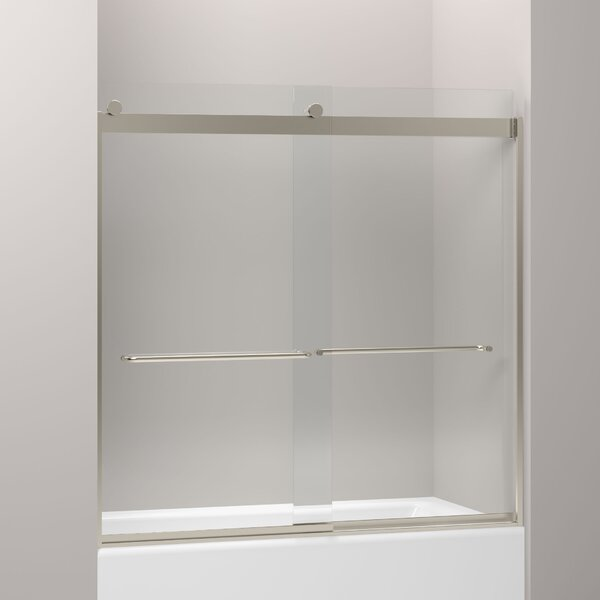 Levity 59.63 x 59.75 Bypass Bath Door with CleanCoat® Technology by Kohler