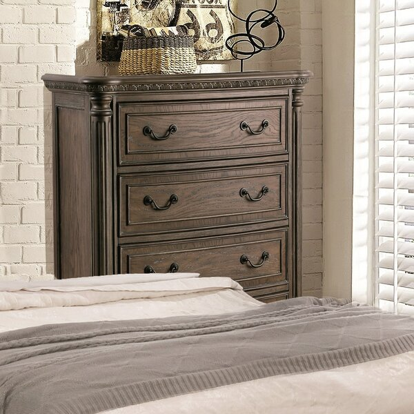 Portsmouth Traditional 5 Drawer Chest by One Allium Way