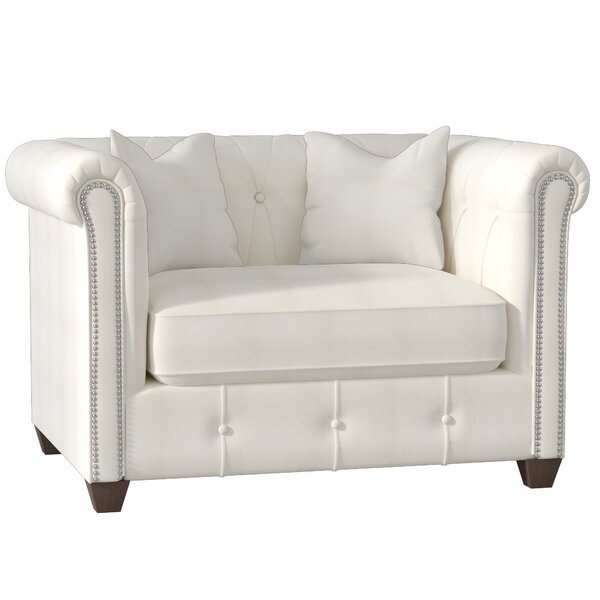 Harrison Chesterfield Chair By Wayfair Custom Upholstery™ Sale