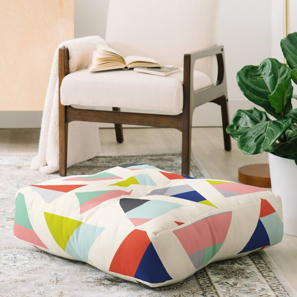 Emmie K Pulled up Floor Pillow by East Urban Home