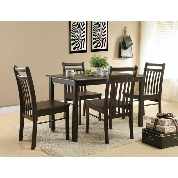 Paden 5 Pieces Pub Table Set by Charlton Home