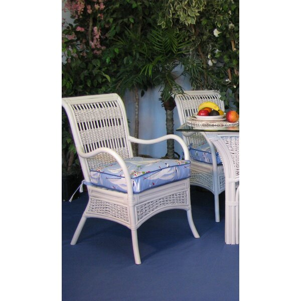 Regatta Upholstered Dining Chair (Set of 2) by Spice Islands Wicker Spice Islands Wicker