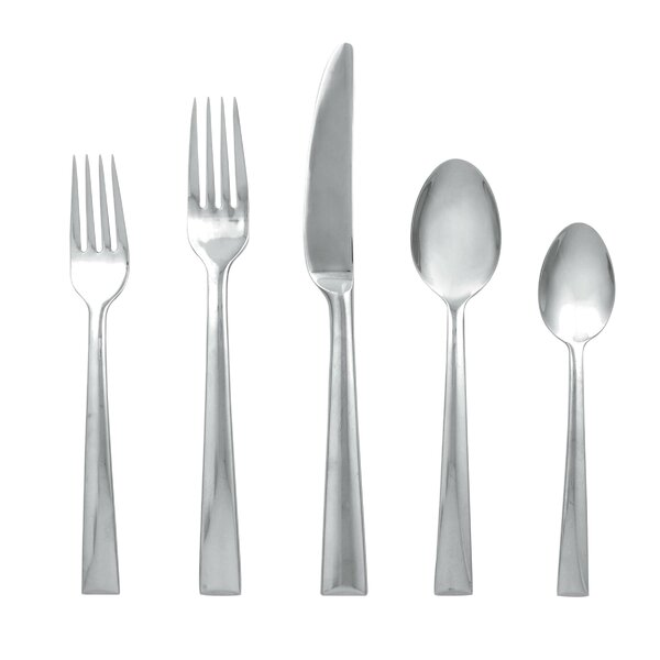 Continental Dining 5 Piece Flatware Set by Lenox